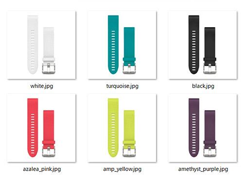 Garmin Fenix 5S新発売キャンペーン、さてシリコンバンドは何色をもらいましょうかね