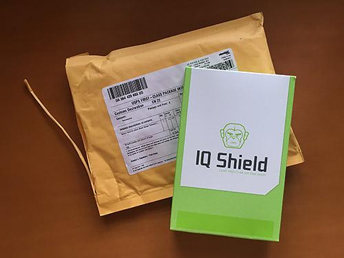 Garmin fenix 5S 浅いレビュー(9) IQ Shieldというスクリーンプロテクターを輸入してみました