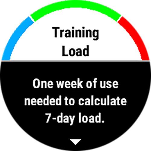 Garmin fenix 5S 浅いレビュー(8) Training Loadはまだ表示されない、たぶん明日?