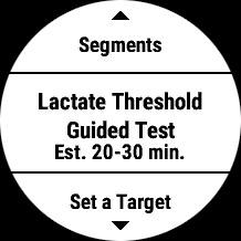 乳酸閾値の測定テスト