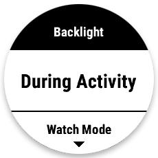Backlight設定