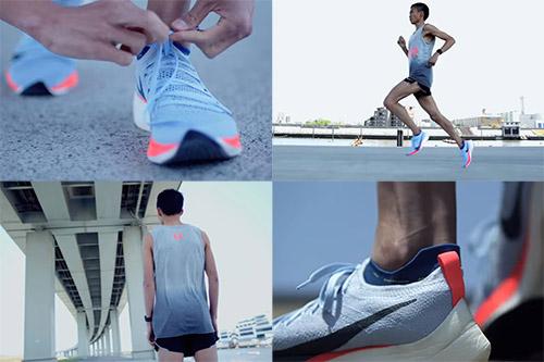 NIKE ZOOM VAPORFLY 4%がらみです、Nike.comより「可能性から確信へ。大迫傑の速さとは?」