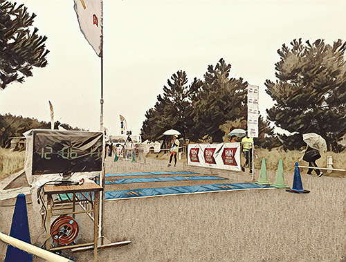 【超遅報】お金を払って決められた距離を走る大会で初めてのDNF