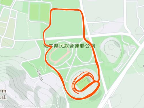 ラン近況(30) 熊本30K(30K走)やってきました