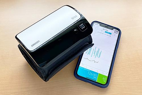 ついでに「OMRON(オムロン) 上腕式血圧計 HEM-7600T」