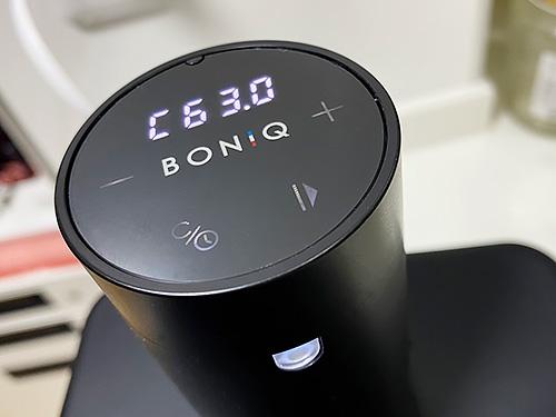 低温調理器「BONIQ 2.0」これは楽しい!! 今年のベストバイはコレだわ