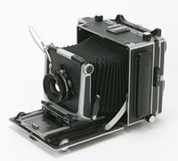 これは「Linhof」という大型カメラ。私の好きなカメラのひとつ